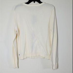 IZOD Sweaters - ✨Women's Cream IZOD Argyle Knit Sweater